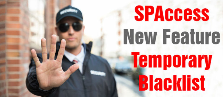 Temporary Blacklist
